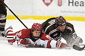 Kyle Criscuolo (Harvard - 11), Mark Naclerio (Brown - 27) - The Harvard University Crimson defeated the visiting Brown University Bears 3-2 on Friday, November 2, 2012, at the Bright Hockey Center in Boston, Massachusetts.