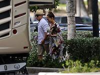 Jennifer Lopez and Casper in Miami Beach
