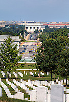 Lincoln Memorial from Arlington Cemetery