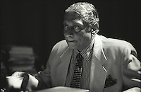 Lakshman Kadirgamar PC  (April 1932 - 12 August 2005) was a Sri Lankan Tamil diplomat, politician and a lawyer. He served as Minister of Foreign Affairs of Sri Lanka from 1994 to 2001 and again from April 2004 until his assassination in August 2005. A distinguished lawyer and international humanitarian, he was assassinated by an LTTE sniper in August 2005