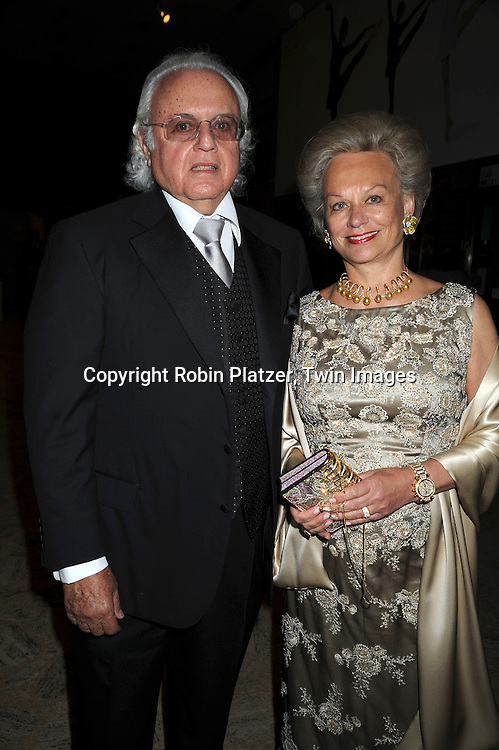 Ira Rennert and Ingeborg Rennert