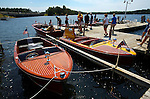The Minocqua Antique & Classic Boat Show held at Bosacki's Food & Spirits in Minocqua, Wisconsin.