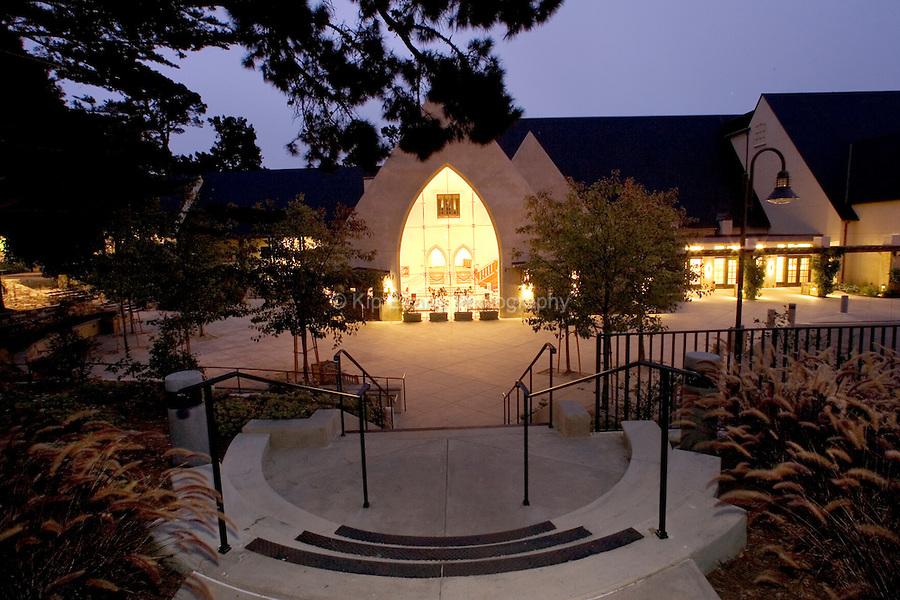 Sunset Center performance theatre in Carmel, California.