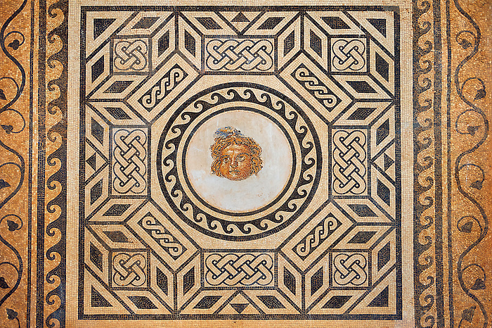 2nd - 3rd century Roman Mosaic from the Alcazar of Cordoba, Spain