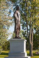 20120913 Ira Allen Chapel and Ira Allen Statue