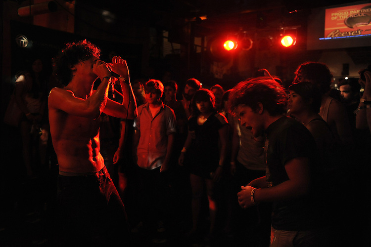SEPTEMBER 7, 2012: Dope Body at Five Star. Night two, Hopscotch 2012. (photo by Kim Walker, kimwalkerphoto.com)