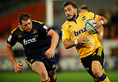 Dunedin-Rugby, Highlanders V Hurricanes 21 March 2014