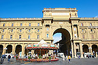 Piazza della Repubblica, Florence, Italy