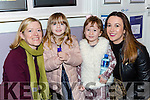 Emily, Kayleigh, Louise and Rhea Murphy Keel enjoying the Robin Hood panto in Killorglin CYMS on Sunday
