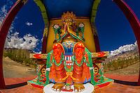 India-Ladakh-Stok Monastery
