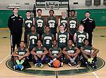 12-8-14, Huron High School boy's junior varsity basketball team