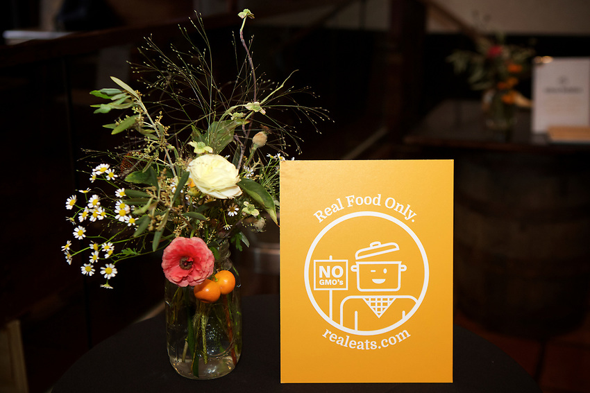 NEW YORK, NY - May 4, 2017: The launch party for Real Eats, featuring food by Chefs Katy Sparks, Sylvia Baldini, Bill Teleran and Dale Talde.<br /> <br /> Credit: Clay Williams for Real Eats.<br /> <br /> &copy; Clay Williams / http://claywilliamsphoto.com