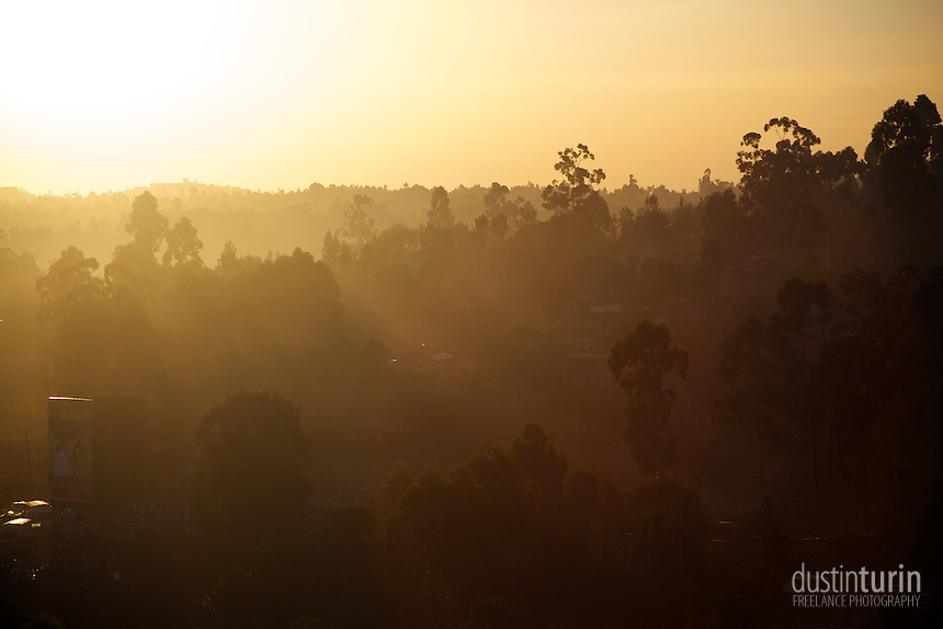 Sunset in Kisii. Kisii, Kenya.