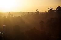 Sunset in Kisii. Kisii, Kenya.