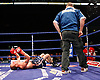 November 9th 2007 - Sean Hughes celebrates after his bout with Esham Pickering at the Ice Arena, Nottingham, England