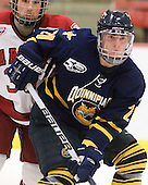 Kellen Jones (Quinnipiac - 20) - The visiting Quinnipiac University Bobcats defeated the Harvard University Crimson 3-1 on Wednesday, December 8, 2010, at Bright Hockey Center in Cambridge, Massachusetts.