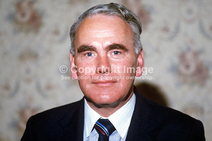 Oliver Gibson, councillor, Omagh, Co Tyrone, N Ireland, UK, DUP - Gibson-Oliver-19840062OG1