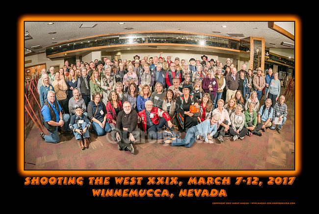 Evening at the Winnemucca Hotel, Shooting the West XX