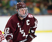 Brian Day (Colgate - 12) - The Harvard University Crimson defeated the visiting Colgate University Raiders 6-2 (2 EN) on Friday, January 28, 2011, at Bright Hockey Center in Cambridge, Massachusetts.