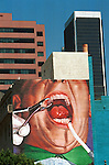 Los Angeles Building with dental work California, California Fine Art Photography by Ron Bennett,