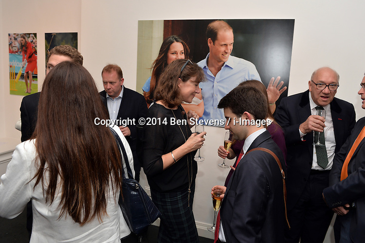 Royalty, Politics and War: the art of the photojournalist. Andrew Parsons Opening Night at the Ellwood Artfield Gallery, Westminster London.<br /> Tuesday, 13th May 2014. Picture by Ben Stevens / i-Images
