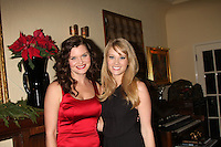 LOS ANGELES - DEC 17:  Heather Tom, Kim Matula at the 2011 Tom / Achor Annual Christmas Party at Private Home on December 17, 2011 in Glendale, CA