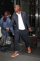NEW YORK, NY - APRIL 19: Morris Chestnut spotted leaving his hotel  in New York, New York on April ,19 2017.  <br /> CAP/MPI/RMP<br /> &copy;RMP/MPI/Capital Pictures