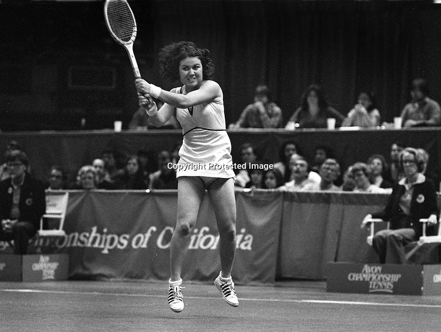 Avon Championship Tennis at the Oakland Alameda County Coliseum Arena.          Norton.<br />