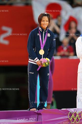 Kaori Matsumoto (JPN), .JULY 30, 2012 - Judo : .Women's -57kg Final .at ExCeL .during the London 2012 Olympic Games in London, UK. .(Photo by Daiju Kitamura/AFLO SPORT) [1045].