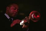 Wynton Marsalis. Participants at the 2001 Monterey Jazz Festival.