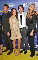 New York, NY- September 20: Arnold Schwarzenegger, Nikki Reed, Ian Somerhalder, Gisele Bundchen attends National Geographic's 'Years Of Living Dangerously' new season world premiere at the American Museum of Natural History on September 21, 2016 in New York City.@John Palmer / Media Punch