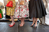 Best dressed lady contest at The 2012 Historic Houses Trust of NSW annual Fifties Fair at Rose Seidler House, Sydney. Picture James Horan