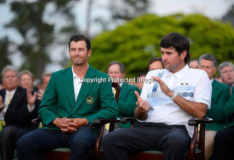 Adam Scott Masters Green Jacket