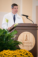 Stephen Leffler, M.D. Class of 2017 White Coat Ceremony.