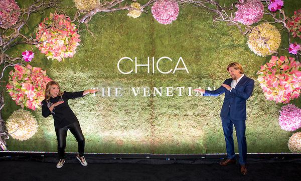 LAS VEGAS, NV - May 12, 2017: ***HOUSE COVERAGE*** Lorena Garcia and John Kunkel pictured at Chica Las Vegas Grand Opening at The Venetian Las Vegas in Las Vegas, NV on May 12, 2017. Credit: Erik Kabik Photography/ MediaPunch