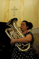 RomeSmarts - Rome Summer Musical Arts..Toyich International Projects in collaboration with the University of Toronto, Canada. Denise Simpson plays Enphonium.