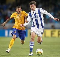 REAL SOCIEDAD v FC BARCELONA.LA LIGA 2015/2016.