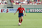 6 June 2004: Christie Pearce Rampone in the second half. The United States tied Japan 1-1 at Papa John's Cardinal Stadium in Louisville, KY in an international friendly soccer game..