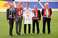 New York Red Bulls Rafael Marquez Press Conference August 03 2010