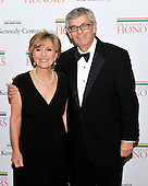 United States Senator Barbara Boxer (Democrat of California) and her husband, Stewart, arrive for the formal Artist's Dinner honoring the recipients of the 2011 Kennedy Center Honors hosted by United States Secretary of State Hillary Rodham Clinton at the U.S. Department of State in Washington, D.C. on Saturday, December 3, 2011. The 2011 honorees are actress Meryl Streep, singer Neil Diamond, actress Barbara Cook, musician Yo-Yo Ma, and musician Sonny Rollins..Credit: Ron Sachs / CNP