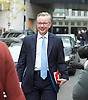 Andrew Marr Show arrivals &amp; departures <br /> on 27th November 2016 <br /> at BBC TV, Broadcasting House, London, Great Britain <br /> <br /> Michael Gove MP<br /> and <br /> Emily Thornberry MP<br /> <br /> Photograph by Elliott Franks <br /> Image licensed to Elliott Franks Photography Services