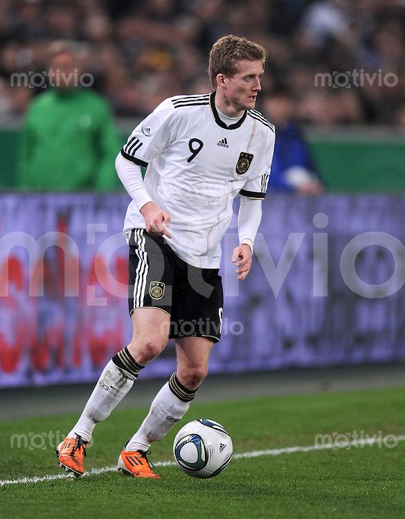 FUSSBALL INTERNATIONAL  EM 2012 Testspiel  29.03.2011 Deutschland - Australien Andre Schuerrle (Deutschland)