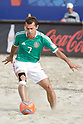 Antonio Barbosa (MEX), SEPTEMBER 02, 2011 - Beach Soccer : FIFA Beach Soccer World Cup Ravenna-Italy 2011 Group D match between Japan 2-3 Mexico at Stadio del Mare, Marina di Ravenna, Italy, (Photo by Enrico Calderoni/AFLO SPORT) [0391]
