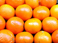 FARMERS MARKET: Oranges