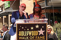 Pitbull, Lil Jon<br /> at the Pitbull Star on the Hollywood Walk of Fame Ceremony, Hollywood, CA 07-15-16<br /> David Edwards/DailyCeleb.com 818-249-4998