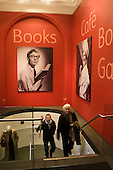 National Portrait Gallery, London.  Stairs to bookshop & Cafe.