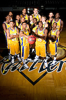 SAN ANTONIO, TX - OCTOBER 15, 2007: The St. Mary's University Rattlers Men's Basketball team picture and individual portraits. (Photo by Jeff Huehn)