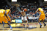 "Ole Miss' Murphy Holloway (31) vs. McNeese State at the C.M. ""Tad"" Smith Coliseum in Oxford, Miss. on Tuesday, November 20, 2012. .."