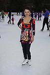 Skater Sasha Cohen at the Figure Skating in Harlem  - the 2011 Skating with the Stars on April 4, 2011 at Wollman Rink, Central Park, New York City, New York. (Photo by Sue Coflin/Max Photos)