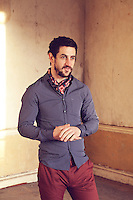 Fashion feature with Kerry GAA footballer Paul Galvin for the Irish Independent newspaper..Picture James Horan/Collins Photos